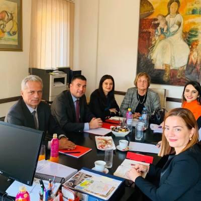 Ministar Purišić posjetio Centar za socijalni rad za opštine Pljevlja i Žabljak