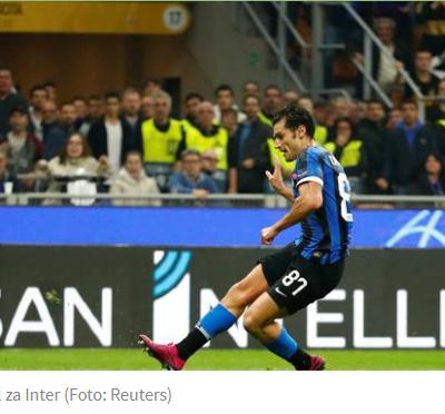 Inter se vratio u igru, Napoli iz austrijske vrteške ka osmini finala, Liverpul šampionski u Belgiji