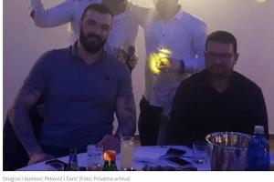 Šarić ortak kumu Pekoviću u hotelu Mediteran
