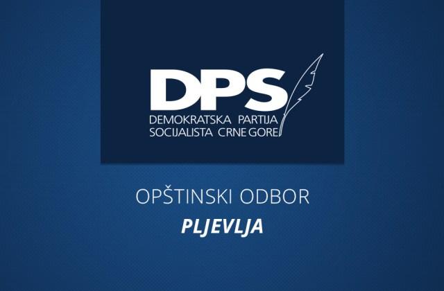 Saopštenje OO DPS-a Pljevlja