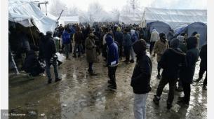 Protest migranata kod Bihaća: Odbijaju i čaj dok se ne otvori granica