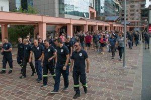 Strukovni odbor vatrogasaca-spasilaca dao bezuslovnu podršku kolegama u Baru