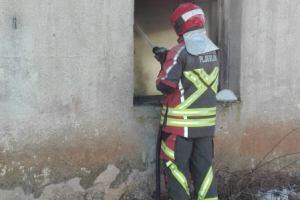 Požar na kući u Nangama: Vatrogasci-spasioci spriječili veću štetu