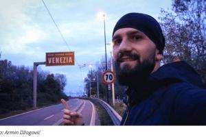 Do Italije na DVA TOČKA uprkos kiši i vjetru: Arminovo putovanje od Herceg Novog do Venecije