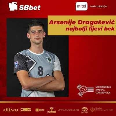 Dragašević i Čepić u idealnoj postavi Mediteranskog prvenstva