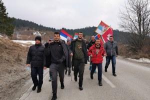 Pljevljaci dočekali četvoricu hodošasnika putevima Svetog Save