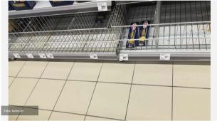 Širi se panika po Zagrebu, ljudi prazne prodavnice