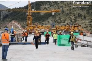 Gradnja auto-puta: Kasne radovi na sekcijama na sjeveru, radnici rade i noću