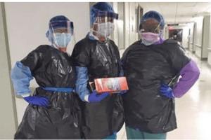 Katastrofalno stanje u njujorškoj bolnici: Medicinske sestre obučene u kesama za smeće