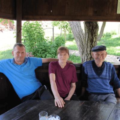 U posjeti porodici Slavojke i Vukomana Savića u Rađevićima