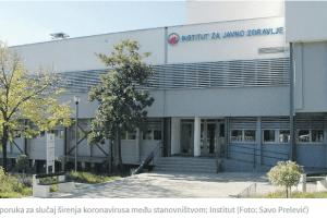 PREPORUKE INSTITUTA ZA JAVNO ZDRAVLJE – Šta ako koronavirus stigne do škola i fakulteta u Crnoj Gori