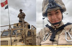 Najmlađa pripadnica crnogorskog kontingenta u Avganistanu: Biti dio VCG lični je i porodični ponos (FOTO)
