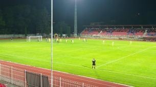 Sekulić treći put dao gol s centra, Podgorica pregazila Rudar