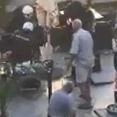 VIDEO: Policajci šutiraju muškarca prilikom hapšenja