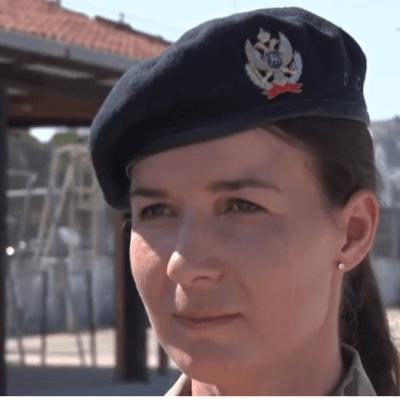 PRVA OFICIRKA – Sarin san je učešće u mirovnim misijama