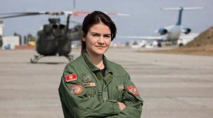 Kristina Bačić: Dama među oblacima