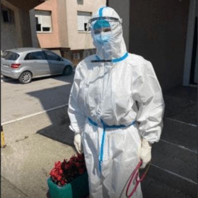 Dr Lejla Ćeranić, majka četvoro djece, trenutno jedini infektolog u bolnici u Novom Pazaru