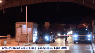 Pogledajte: Prvi turisti odmah iza ponoći počeli da ulaze u Crnu Goru