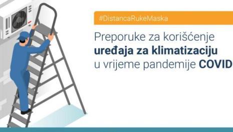 IJZ dao preporuke za korišćenje klima uređaja tokom pandemije COVID 19