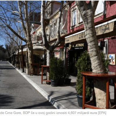 Javni dug Crne Gore naredne godine veći od četiri milijarde eura