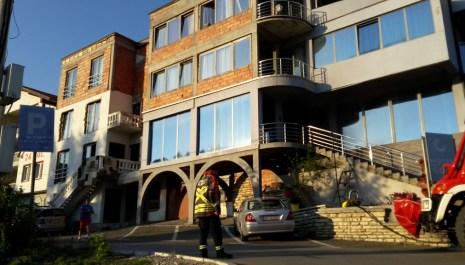 """Požar na hotelu """"Gold"""": Brzom intervenijom vatrogasaca spriječena veća materijalna šteta"""