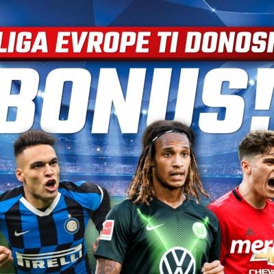 Pogodi ko osvaja Ligu Evrope i osvoji 5 eura bonusa!