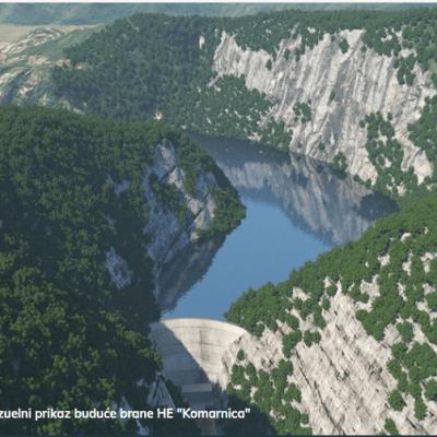 Koncesioni akt za HE Komarnica uručen EPCG; Noveljić: Spremni smo za izgradnju prvog velikog hidroenergetskog objekta nakon četiri decenije