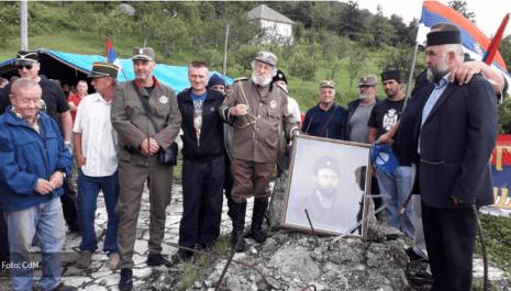Potpredsjednik Skupštine opštine Berana na skupu četničkog pokreta, privedeni učesnici