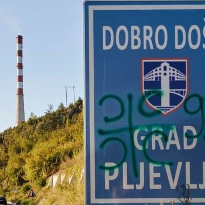 Za incidente u Pljevljima procesuirane četiri osobe