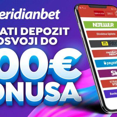 Bonus do 200€ bez uslova!!!