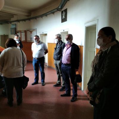 Radnici Komunalnih usluga nakon razgovora sa Golubovićem napustili zgradu Opštine