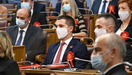 Bečić izabran za predsjednika Skupštine Crne Gore