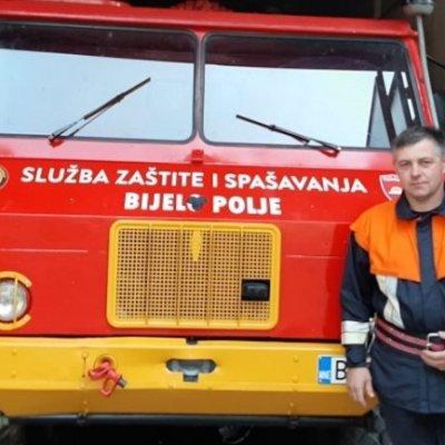 Human gest vatrogasca iz Bijelog Polja: Platu donirao za liječenje sedmogodišnjeg sugrađanina