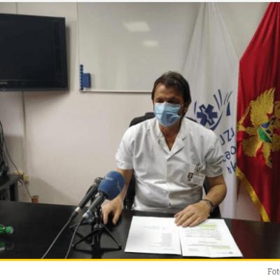 U OB Nikšić kovid pozitivno 18 medicinskih radnika