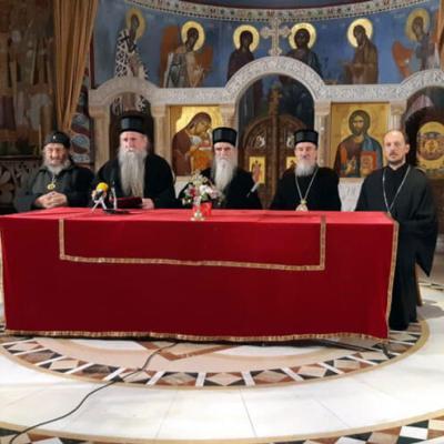 Episkopski savjet SPC u Crnoj Gori tvrdi da ne poziva na okupljanja i litije