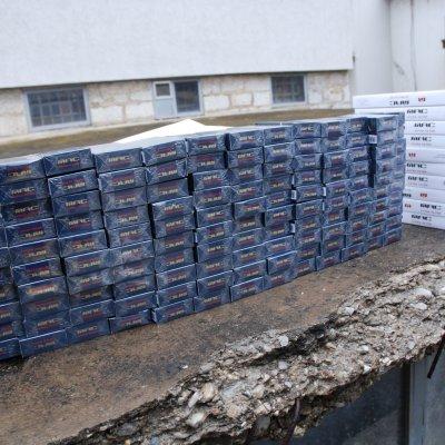 Saopštenje CB Pljevlja: Oduzeta veća količina cigareta na Metaljci