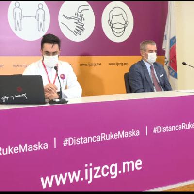 Begić: Ukoliko se nastavi ovakav trend zatvorićemo kafiće i ograničiti kretanje u Podgorici