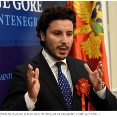 Abazović: Sektor bezbjednosti da vode lojalni državi