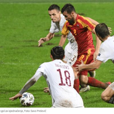 Crna Gora – Letonija 1:1, Igor Ivanović donio remi u 91. minutu