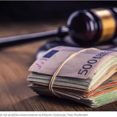 Presuda Toškoviću putovala dok nije dobio milionske poslove