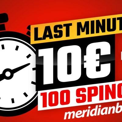Registruj se i uzmi 10€ bonusa i 100 besplatnih spinova!