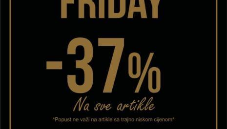 BLACK FRIDAY u EXIT SHOP-u: -37% na sve artikle