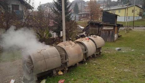 Dim iz kontejnera dodatno zagađuje vazduh