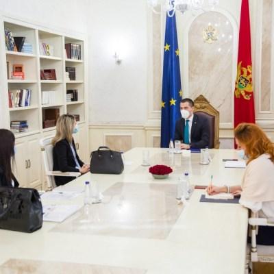 Bečić sa predstavnicima CRNVO: Jačati saradnju Skupštine i NVO sektora