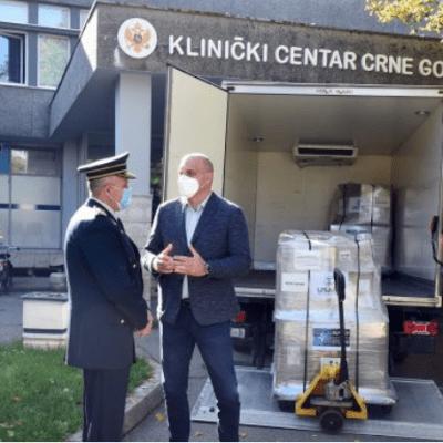 NATO donacija vrijedna 800.000 eura: Za CG 20 respiratora