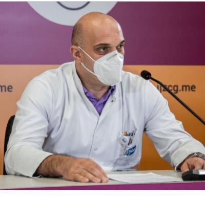 Abdić: Hospitalizovano 313 pacijenata, 36 životno ugroženo