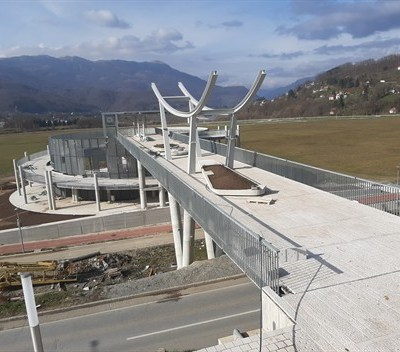 Izgradnja pasarele u Mojkovcu u završnoj fazi