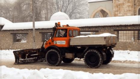 """DOO """"Čistoća"""" spremna za zimsko održavanje gradskih ulica"""