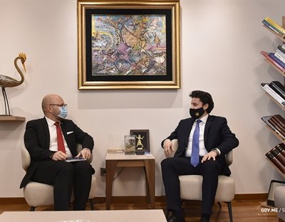 Abazović – Lundberg: Crna Gora i UN nastavljaju izgradnju sigurnijeg, bogatijeg i perspektivnijeg društva