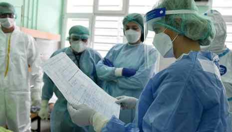 U Kliničkom centru životno ugroženo 66 covid pacijenata